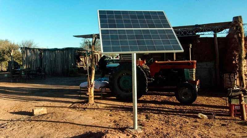 La energía solar gana terreno en zonas rurales