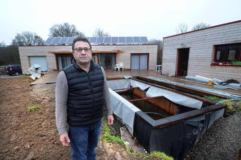 Rochefort : une maison complètement autonome grâce à l'énergie solaire