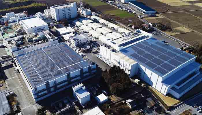 花王、栃木工場でメガソーラー稼働、全量自家消