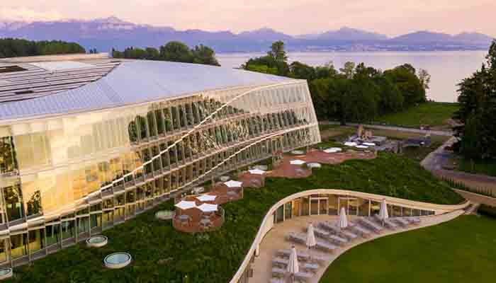 3XN builds new headquarters for the Olympics on shore of Lake Geneva