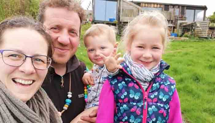 The family-of-four living off-grid