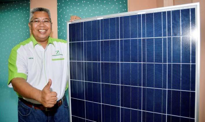 Tenaga suria ganti elektrik di Taiwan