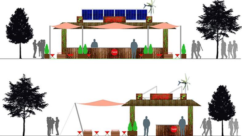 coca-cola-estrenara-en-el-concierto-de-gredos-una-barra-solar-sostenible