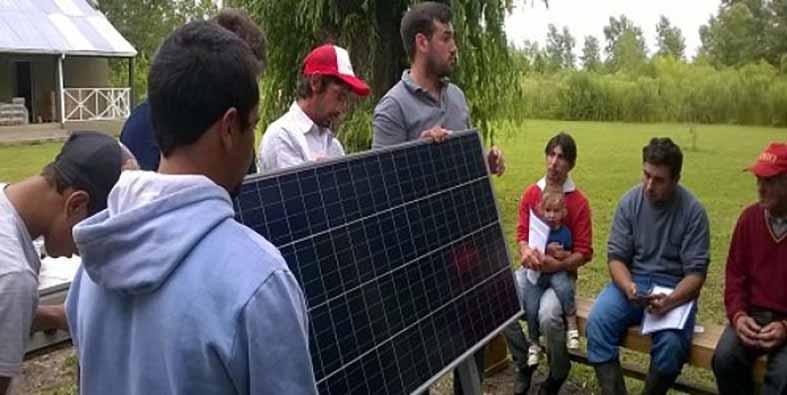 38 kits solares para generar electricidad en zonas aisladas de Delta del Paraná, Argentina