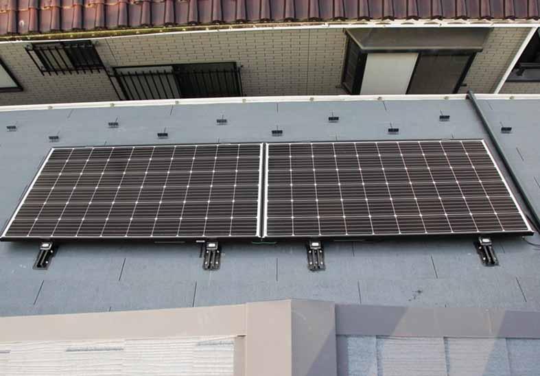 売電ではなく自家消費、新発想の太陽光発電