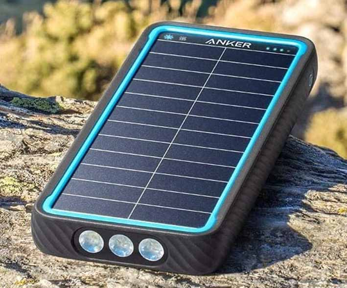 Anker: Neue Powerbank PowerCore Solar 10000 lädt Smartphones mit Sonnenenergie