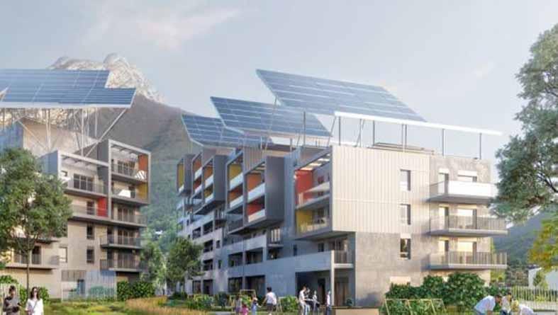 De nouveaux bâtiments quasiment autonomes en énergie et en eau