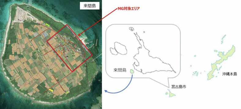 太陽光の第三者所有を活用するマイクログリッド、宮古島の離島で実証へ