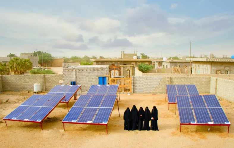 Solar Energy Micro-Businesses in Yemen are Saving Lives